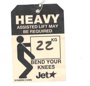 heavy Jetstar tag