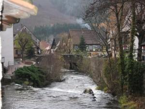 Huizenruil in Kaysersberg Frankrijk