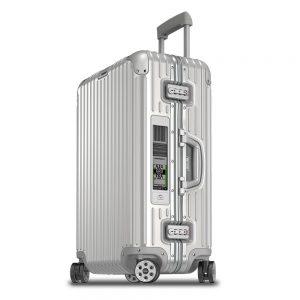 Alimuninium koffer Rimowa koffer met elektronische label