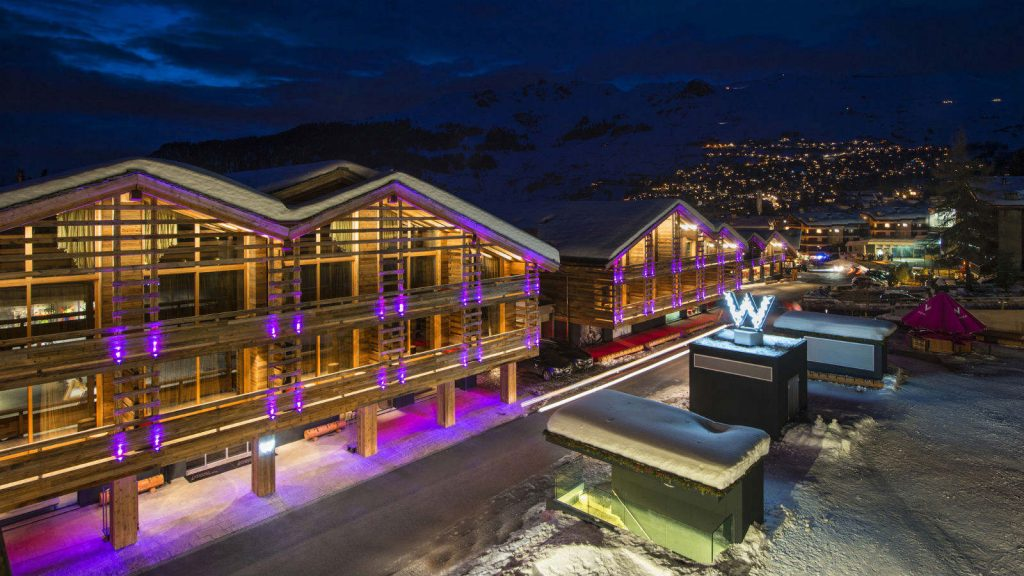 W Hotel Verbier Zwitserland