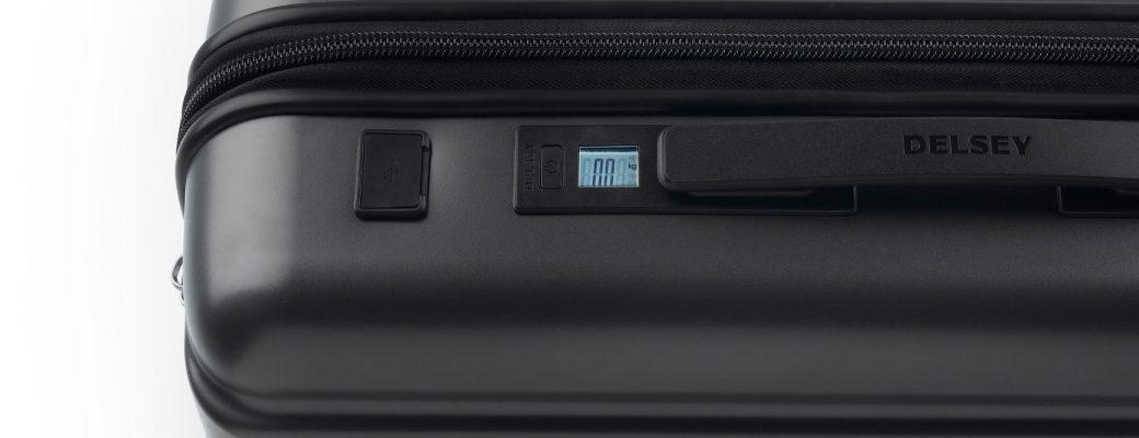 Koffers met electronica